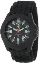 Smith & Wesson Men's SWW-12T-N Soldier Tritium H3 Nylon Strap Watch