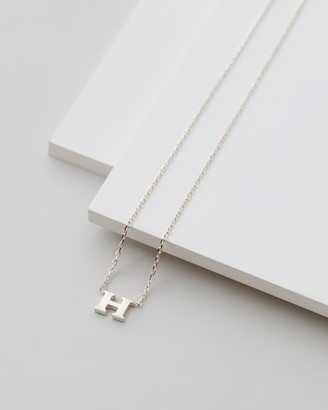 Michael Hill H Initial Necklace