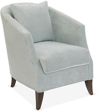 One Kings Lane Fisher Accent Chair - Light Blue