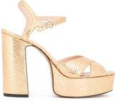 Marc Jacobs textured sandals