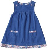 Jo-Jo JoJo Maman Bebe Pinafore Dress (Baby) - Blue-6-12 Months