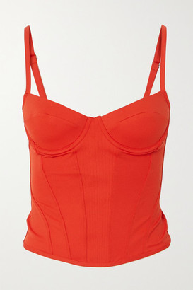 Ernest Leoty Romy Stretch Top - Orange