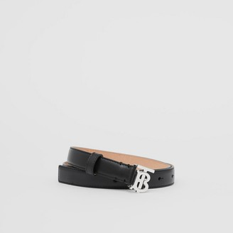 Burberry Monogram Motif Leather Belt