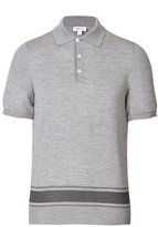 Brioni Wool-Silk Polo Shirt