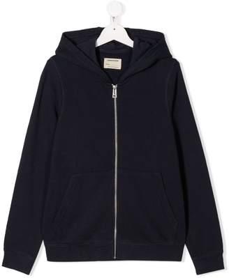 Zadig & Voltaire Kids TEEN zip-up hooded jacket