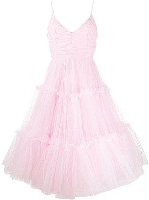 Brognano Flared Tulle Dress
