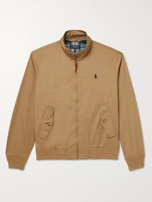 Polo Ralph Lauren Cotton-Twill Harrington Jacket