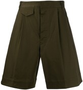 DSQUARED2 flared bermuda shorts
