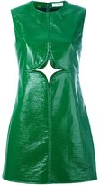 Courreges cut out shift dress