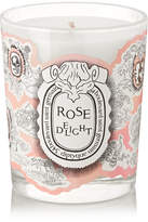 Diptyque Rose Delight Scented Candle, 190g - Colorless