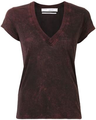 IRO v-neck tie-dye T-shirt