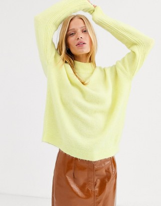 ASOS super soft alpaca wool crew neck
