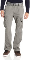 UNIONBAY Men's Cotton Twill Survivor Cargo Pant, Belt, 30x32