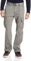 UNIONBAY Men's Cotton Twill Survivor Cargo Pant, Belt, 34x32