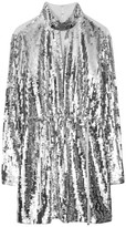 Tibi Avril Sequin Dress