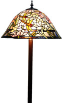 Classical Dragonfly Stained Glass Tiffany Floor Lamp