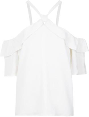 Olympiah ruffled blouse
