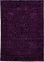 "Kenneth Mink Spectrum Mod Heriz Purple 5'3"" x 7'6"" Area Rug"