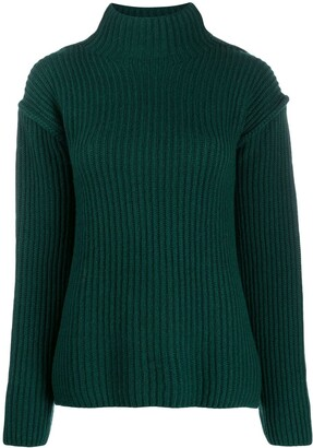 Tory Burch Ribbed Knit Sweater