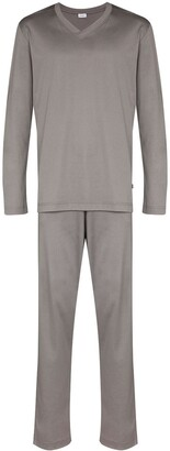 Zimmerli V-neck two-piece pyjama