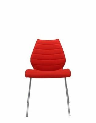 Kartell Maui Side Chair (Set of 2 Upholstery: Beige Kvadrat