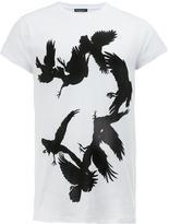 Ann Demeulemeester bird print T-shirt - men - Cotton - M