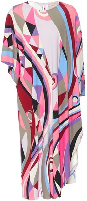 Emilio Pucci Printed jersey midi dress