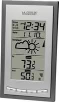 La Crosse Technology WS-9077U-IT Wireless Atomic Weather Station with Min/Max, Grey