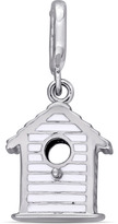 Laura Ashley Enamel-Plated Sterling Silver Birdhouse Charm