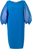 D-Exterior D.Exterior - three-quarters sleeve shift dress - women - Silk/Polyester - 46
