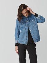 Frank + Oak The Martha Denim Jacket in Blue