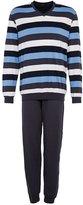 Schiesser Pyjamas Blau