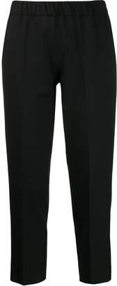 D-Exterior D.Exterior plain cropped trousers