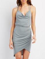 Charlotte Russe Strappy Halter Bodycon Dress