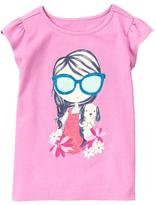 Gymboree Puppy Girl Tee