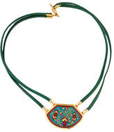Hermes Cloissone Necklace