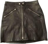 Rag & Bone Black Leather Skirts
