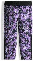 The North Face Pulse Bokeh Capri Pants, Purple, Size XXS-L