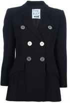 Moschino Cheap & Chic Vintage double breasted jacket