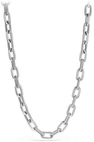 David Yurman Madison Chain 11mm Medium Link Necklace, 18""