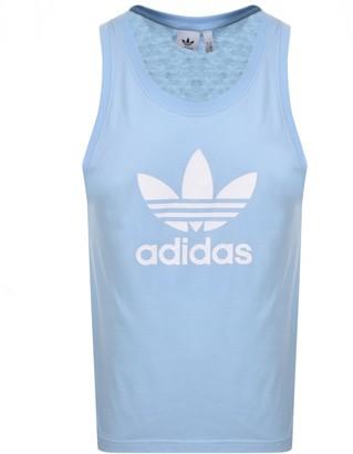 adidas Trefoil Vest Blue