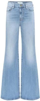 Frame La Palazzo high-rise wide-leg jeans