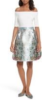 Ted Baker Women's Dewrose Patchwork A-Line Dress