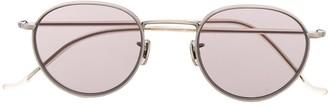 Eyevan 7285 Round Frame Tinted Sunglasses