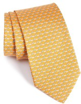 Salvatore Ferragamo Men's Novelty Silk Tie
