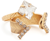Elizabeth Cole Crystal Ring