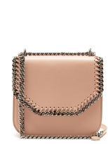 Stella McCartney Falabella mini faux-leather shoulder box bag