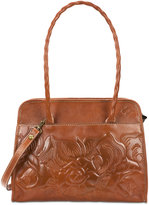 Patricia Nash Large Tooled Rose Paris Satchel