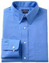 Croft & Barrow Men's Fitted Solid Dress Shirt