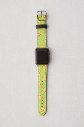 Casetify Happytown Acid Green Apple Watch Strap